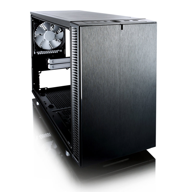 EXDISPLAY Fractal Design Define Nano S ITX-Tower Case - Window