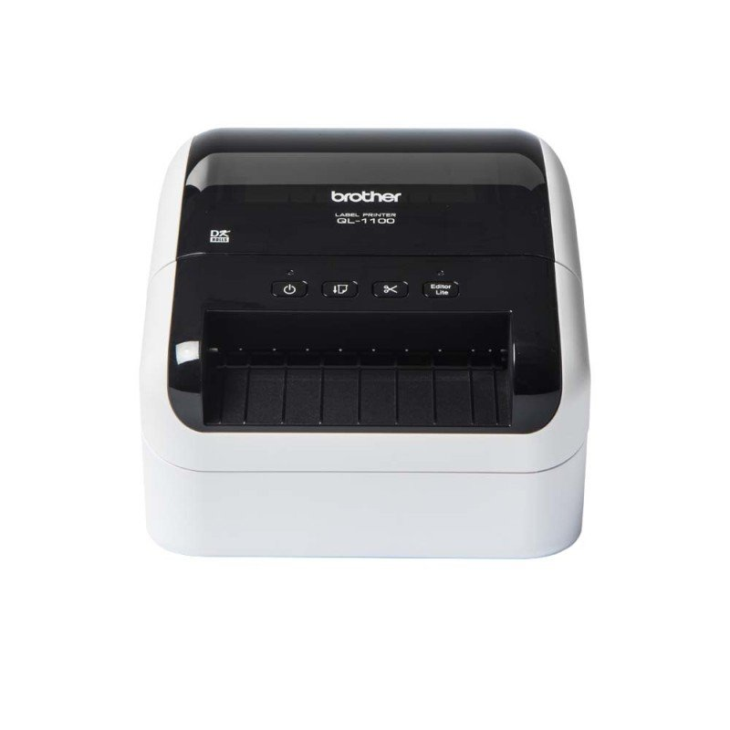 Brother QL-1110NWB Thermal Label Printer + Dk Continuous Labels White