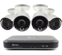 Swann 8 Channel 5MP DVR Security System with 2TB HDD & 4 x 5MP Thermal Sensing Security Cameras