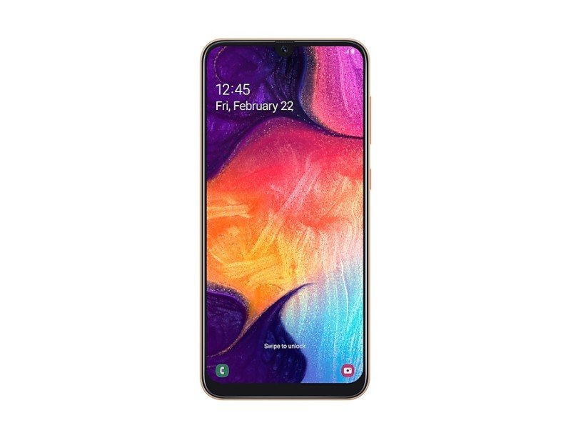 Image of Samsung Galaxy A50 128GB Smartphone - Coral