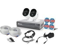 Swann 4 Channel 1080p DVR Security System  with 1TB HDD & 2 x 1080p Thermal Sensing Security Cameras PRO-1080MSB