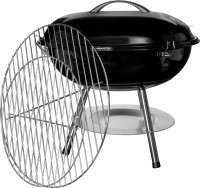 Vida Portable 36cm Charcoal Grill - Black
