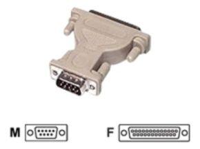 C2G, DB9M to DB25F Serial Adapter