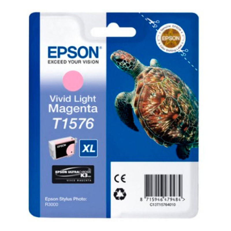 Epson T1576 Stylus Photo R3000 Vivid Light Magenta