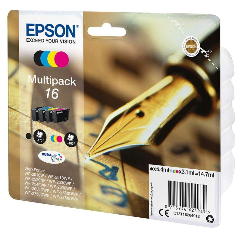 Ink/Multipack 4-colour 16 EasyMail