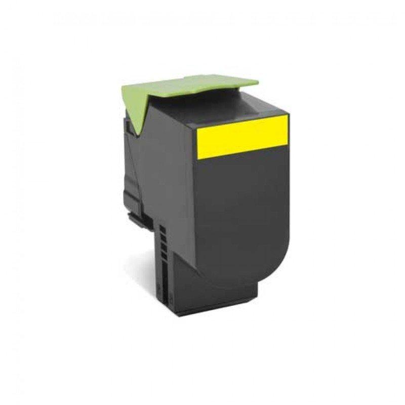Lexmark 78C20Y0 Yellow Return Programme Toner Cartridge