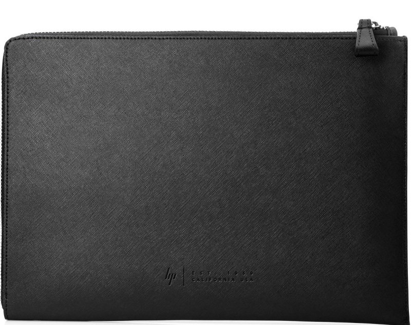 HP Elite 13.3 Black Leather Sleeve Black