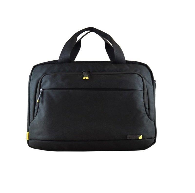 "Techair 12 to 14.1"" Eco Shoulder Bag Black"