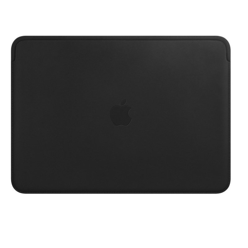 Apple Black Leather Sleeve for MacBook Pro 15""