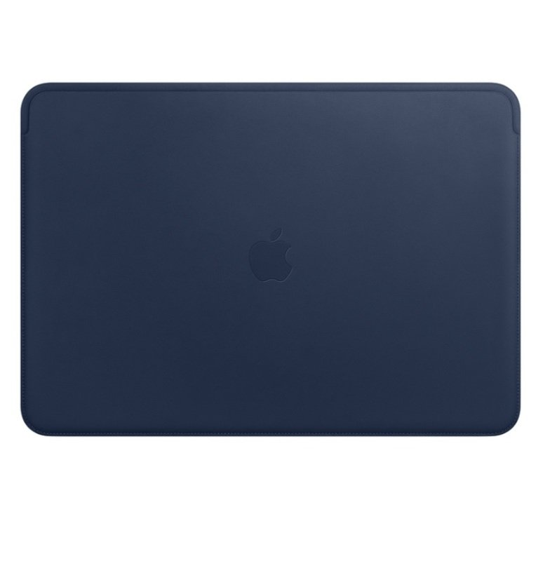 """Apple Midnight Blue Leather Sleeve for MacBook Pro 15"""""""