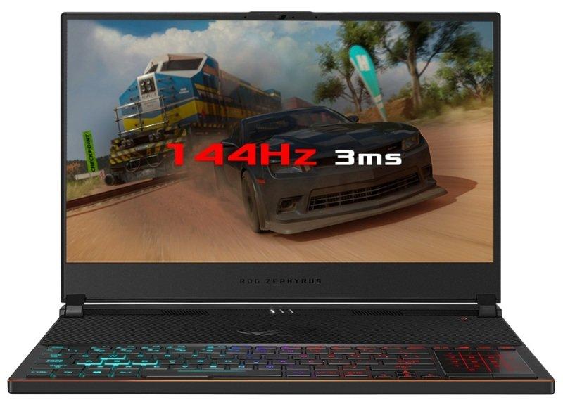 "EXDISPLAY ASUS ROG Zephyrus S GX531GW Gaming Laptop Intel Core i7-8750H 2.2GHz 16GB DDR4 512GB SSD 15.6"" Full HD IPS No-DVD NVIDIA RTX 2070 8GB WIFI Windows 10 Professional (64 Bit)"