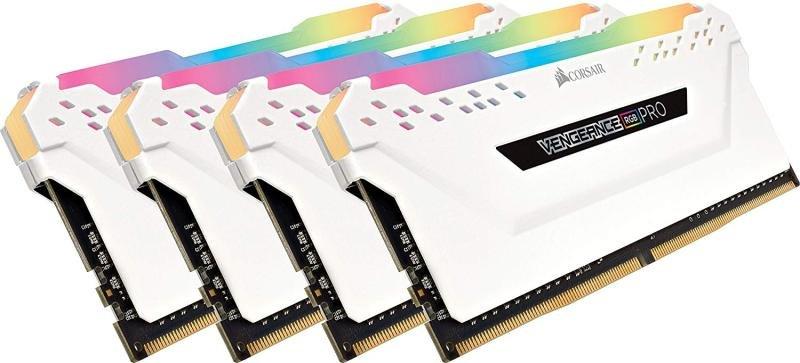 Corsair Vengeance RGB White PRO 32GB (4 x 8GB) DDR4 3200MHz