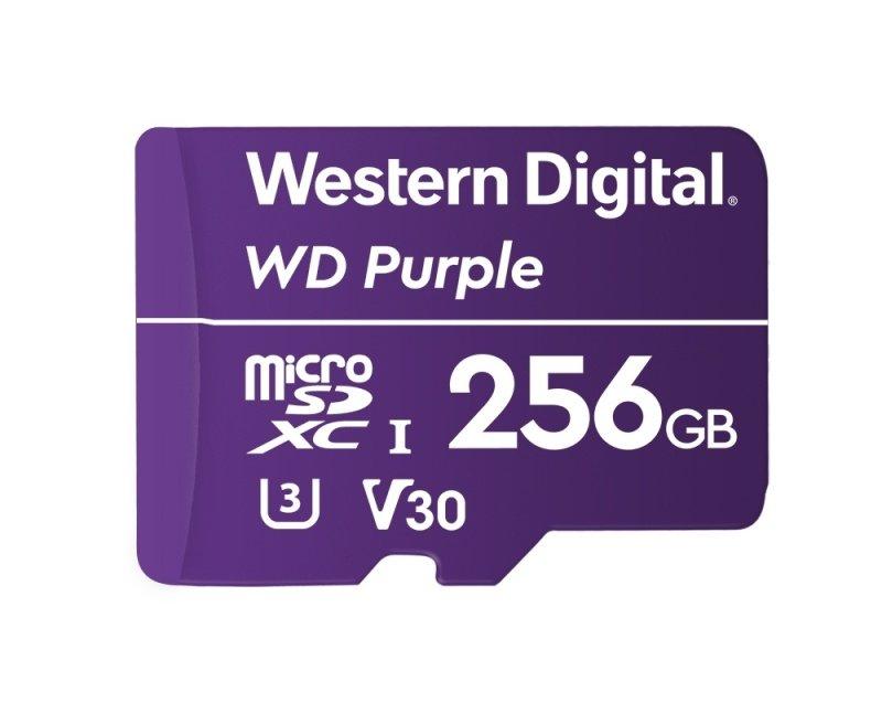 WD Purple microSD Card 256GB