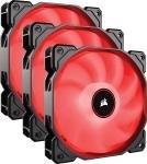 Corsair AF120 Red LED 3 x 120mm Case Fan