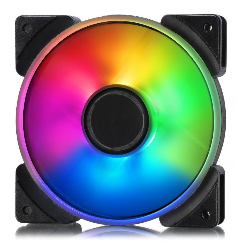Image of Fractal Design Addressable RGB Prisma AL-12 120mm PWM Cooling Fan