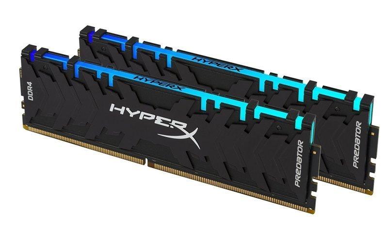 HyperX Predator RGB 16GB (2 x 8GB) 3600MHz DDR4 Memory