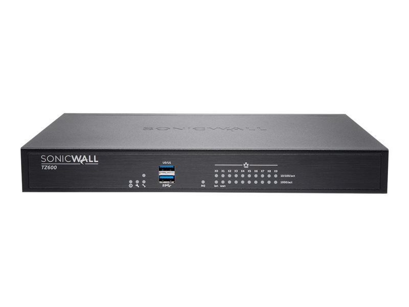 SonicWall TZ600 Advanced Edition Security Appliance with 2 Years TotalSecure
