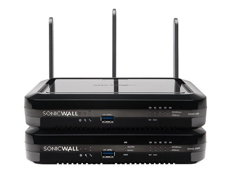 SonicWall SOHO 250 Secure Upgrade Plus Advanced Edition 2YR