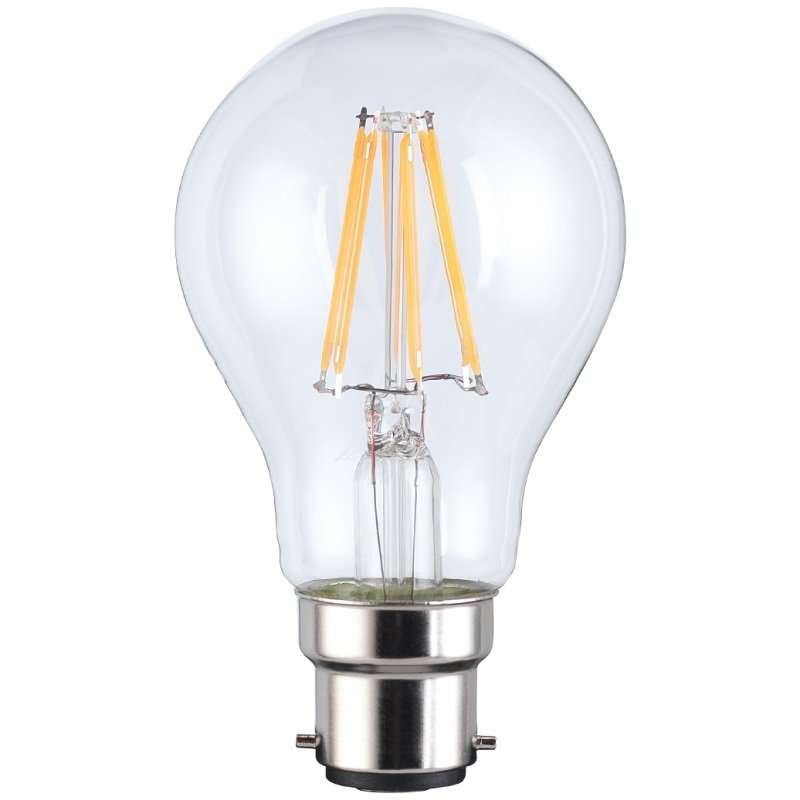 TCP Smart Wifi Classic Filament Dimmable Bulb 60w (Equivalent) Warm White B22 Works with Alexa Google