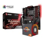 MSI X470 GAMING PLUS Motherboard with Ryzen 5 2600X Processor Bundle