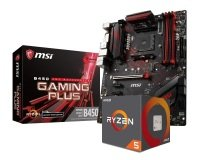 MSI B450 GAMING PLUS Motherboard with Ryzen 5 2600X Processor Bundle