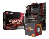 MSI B450 GAMING PLUS Motherboard with Ryzen 5 2600 Processor Bundle