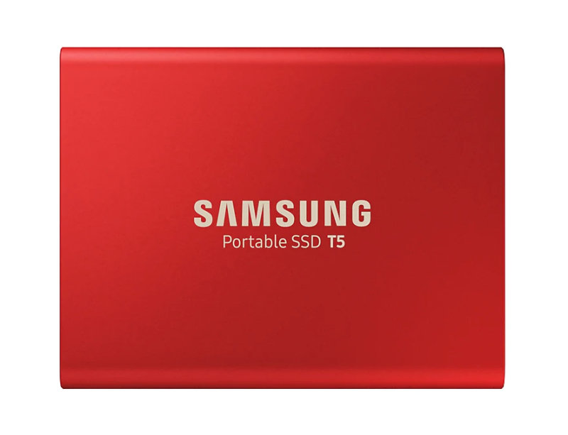 Samsung T5 500GB External SSD - Red