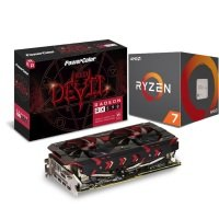 PowerColor Red Devil RX 590 Graphics Card with AMD Ryzen 7 2700 Processor Bundle