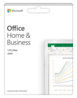 5 x Office Home & Business 2019 Medialess Bundle