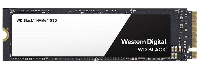 WD 250GB Black NVMe M.2 2280-S3-M PCIe Gen3 SSD