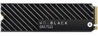 WD Black 500GB SN750 NVMe SSD with Heatsink