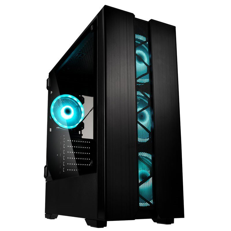 Kolink Phalanx Mid Tower Gaming Case - Black