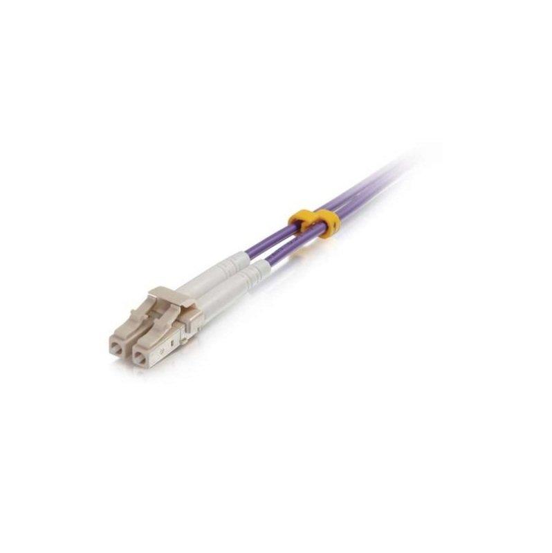 C2G 3M LC-LC OM4 Fibre Patch Cable Purple