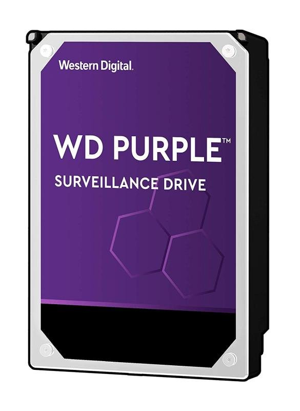 WD Purple Surveillance 6 TB Internal HDD - WD60PURZ