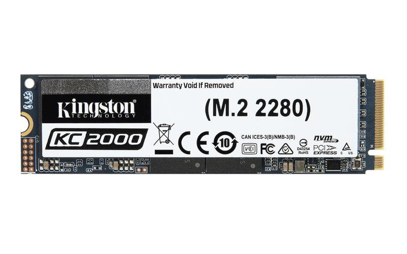 Kingston KC2000 500GB NVMe SSD
