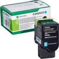 Lexmark C242XC0 Cyan Extra High Yield Return Programme Toner