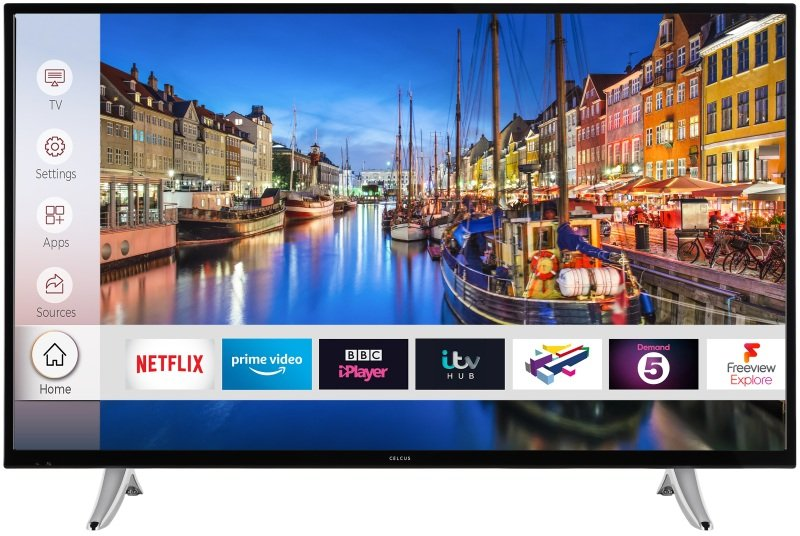 "Celcus 43"" Full HD Smart TV"