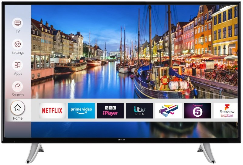 "Celcus 40"" Full HD Smart TV"