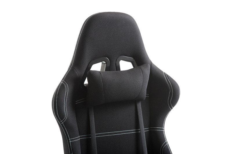 EXDISPLAY EG Premium Gaming Chair - Black Fabric