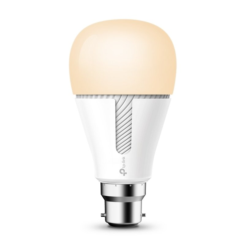 TP Link Kasa KL110 B22 Smart Wi-Fi LED Bulb with Dimmable Light - Works with Alexa/Google Home