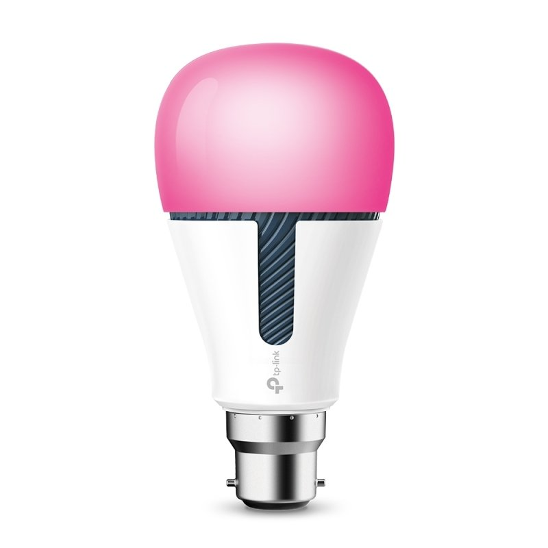 TP Link Kasa KL130 B22 Smart Wi-Fi LED Bulb with Colour Changing - Works with Alexa/Google Home