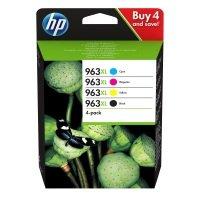 HP 963XL 4-pack High Yield Black/Cyan/Magenta/Yellow Original Ink Cartridge (3YP35AE)