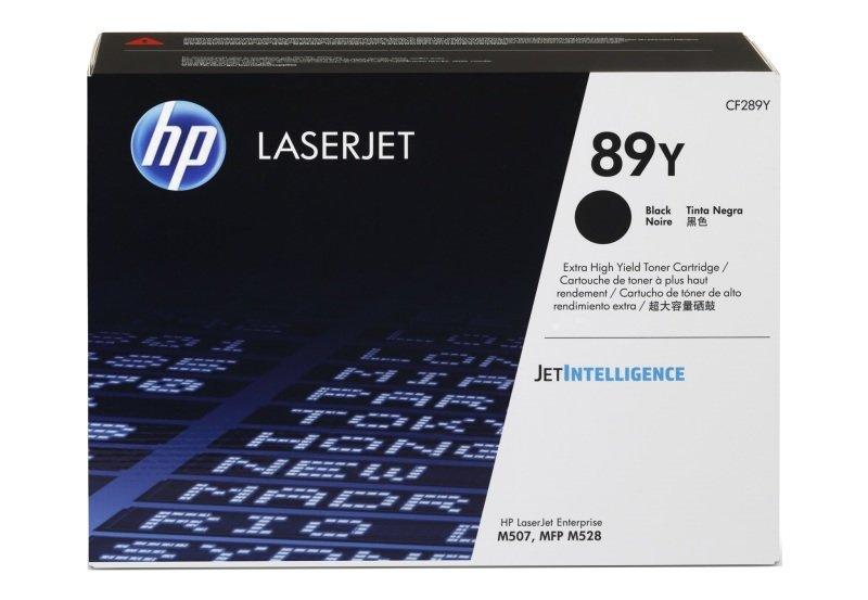 HP 89Y Extra High Yield Black Original LaserJet Toner Cartridge (CF289Y)