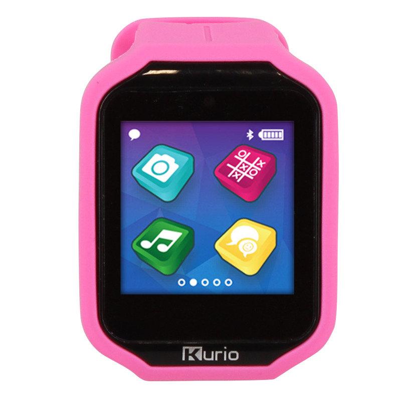 Image of Kurio Childrens Bluetooth Smart 2.0 Alarm Chronograph Watch Pink - C17516