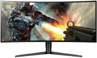 "LG 34GK950G 34"" Class 21:9 UltraGear QHD IPS Curved LED Gaming Monitor with G-SYNC"