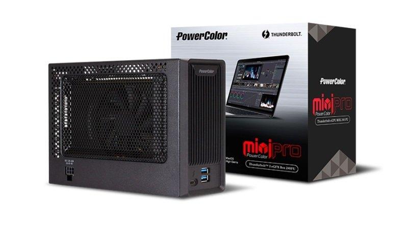 PowerColor Mini Pro Thunderbolt 3 EGFX RX 570 Graphics Enclosure