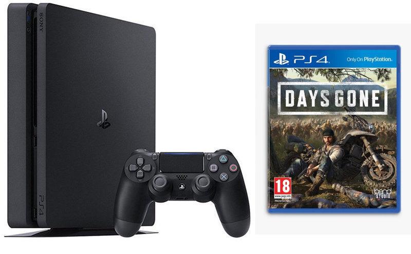 Sony 500GB Black PS4 with Days Gone