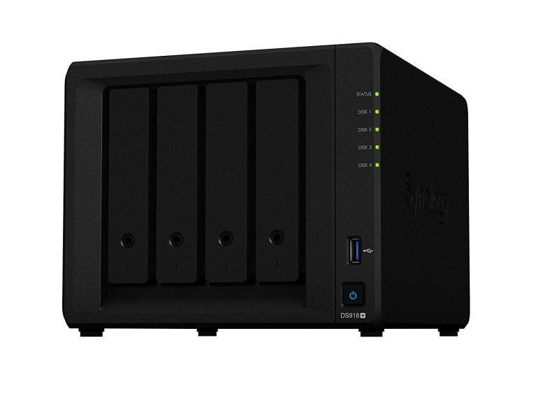 Synology DS918+ 24TB (4 x 6TB SGT-IW) 4 Bay Desktop NAS Unit