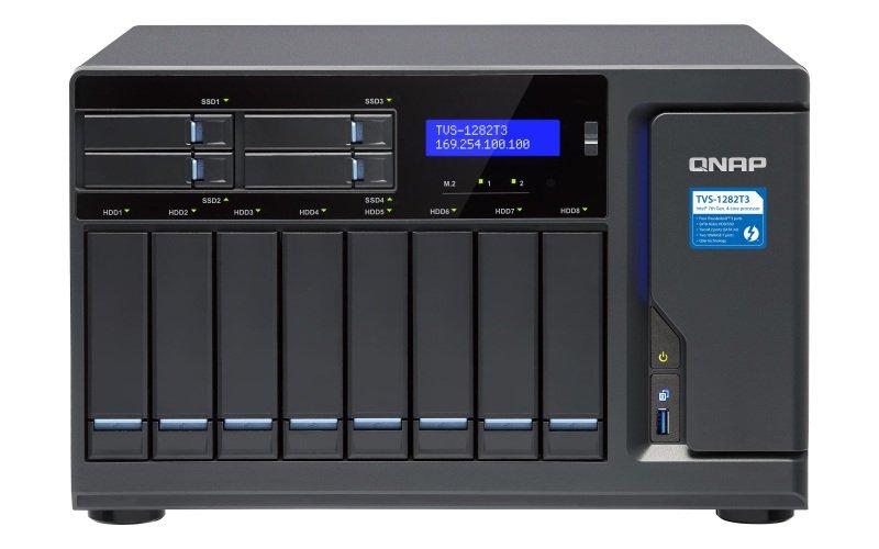 QNAP TVS-1282T3-i7-32G 12 Bay Desktop NAS Enclosure with 32GB RAM