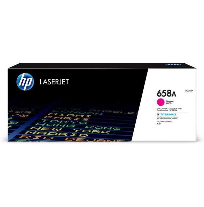 HP 658A Magenta Original LaserJet Toner Cartridge (W2003A)